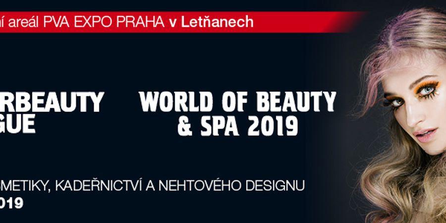 INTERBEAUTY PRAGUE, WORLD OF BEAUTY & SPA 2019
