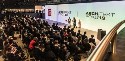 Záznam ze slavnostního předávání soutěže Young Architect Award a ocenění Architekta roku