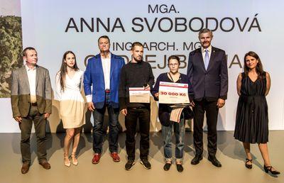 Vítězové Young Architect Award 2019