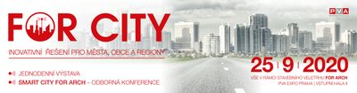 Změna termínu FOR CITY 2020