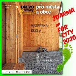 Dřevo a stavby pro města a obce FOR CITY 2020_250x250