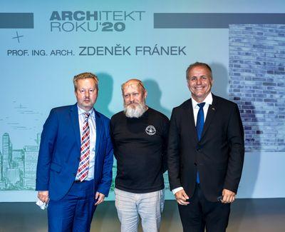 ZDENĚK FRÁNEK ARCHITEKTEM ROKU 2020