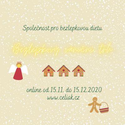 Každoroční partner veletrhu Bezlepkový vánoční trh také on-line