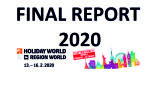 HOLIDAY WORLD & REGION WORLD 2020 - Final Report