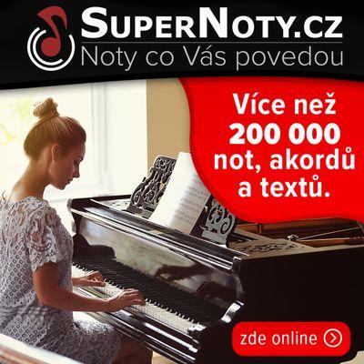 Supernoty.cz digitalizují noty napříč všemi žánry