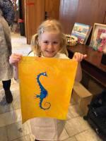 Art-terapie pro děti a dospělé  - malování na hladině vody
