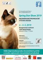 Výstava koček Spring Star Show 2019