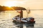 První skútr na světě určený rybářům!