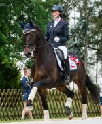 Hana Vašáryová and Filipa at FOR HORSE SHOW