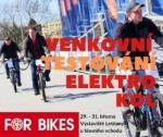 50 nejnovějších modelů elektrokol na venkovní testovací dráze