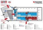 PRAGODENT 2019 - Hall map of the fair