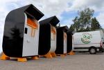 Spojení ekologického třídění textilu a solární energie!