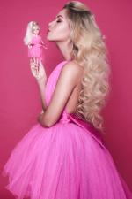 Setkání s pink barbie Dominikou Myslivcovou